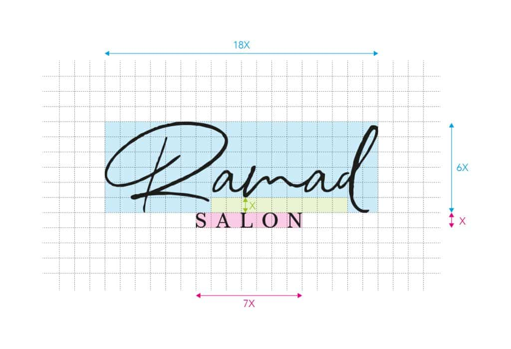 Ramad salon new logo desing Construction